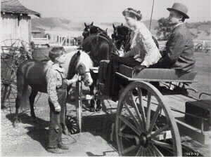 A scene from the Red Pony 1949 movie
