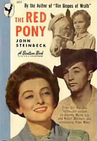 steinbeck Red Pony paperback book