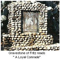 image Fritz the horse grave marker