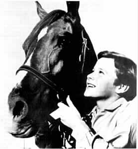 image Flicka and Johnny Washbrook
