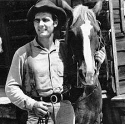 Weaver and his horse on Gunsmoke