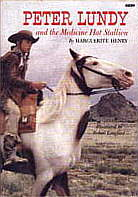 book cover Peter Lundy and the medicine hat stallion