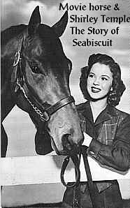 Shirley Temple and Movie horse